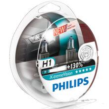 لامپ هالوژن گازی H1 مدل اکستریم ویژن – فیلیپس
