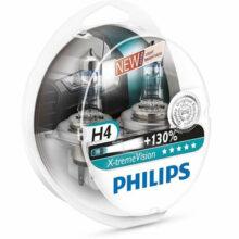 لامپ هالوژن گازی H4 مدل اکستریم ویژن – فیلیپس