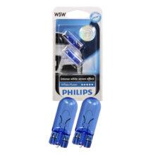 لامپ چراغ های کوچک خودرو با پایه W5W مدل ۱۲۹۶۱ ( یک جفت) – فیلیپس