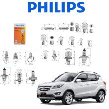 پکیج لامپ های خودروی چانگان CS35 – فیلیپس