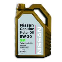 روغن موتور نیسان ۵W-30 SM چهار لیتری – Nissan