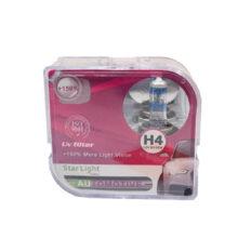 لامپ هالوژن گازی H4 مدل اکستریم %۱۵۰ استارلایت – StarLight