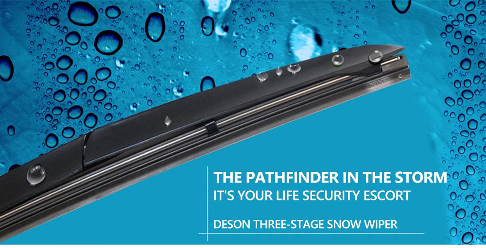 تیغه برف پاک کن هیبریدی U-Hook دنسو ۱۴ اینچ