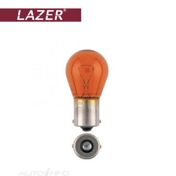 لامپ هالوژن گازی نارنجی پایه PY21W لیزر – Lazer