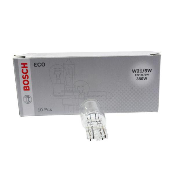 لامپ هالوژن خودرو پایه W21/5W مدل Eco بوش – Bosch
