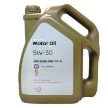 روغن موتور نیسان ۵W-30 SN چهار لیتری – Nissan