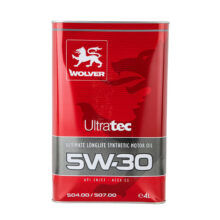 روغن موتور Ultra Tec 5w-30 SN ولور – Wolver (4 لیتری)